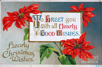 Photograph - Christmas Postcard by Kevin Bohner