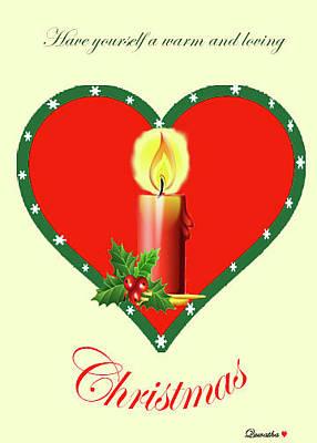 Digital Art - Christmas by Quwatha Valentine