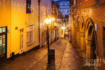 Photograph - Christmas Steps, Bristol by Colin Rayner