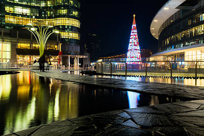 Photograph - Christmas Tree In Milan by Alfio Finocchiaro