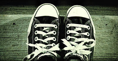Photograph - Chucks by JAMART Photography