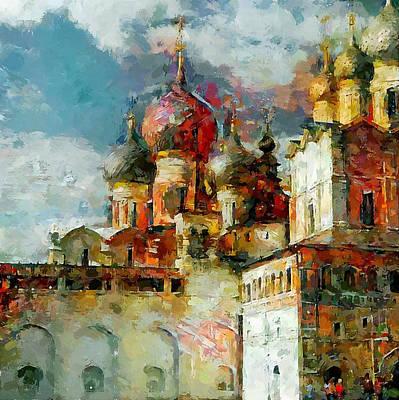 Digital Art - Church Colors by Yury Malkov