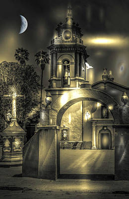 Photograph - Church In Bernal by Barry Weiss