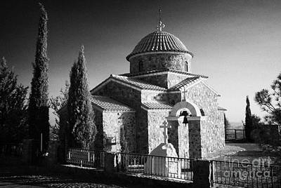 Church Of The All Saints Of Cyprus At The Stavrovouni Monastery Republic Of Cyprus Europe Print by Joe Fox