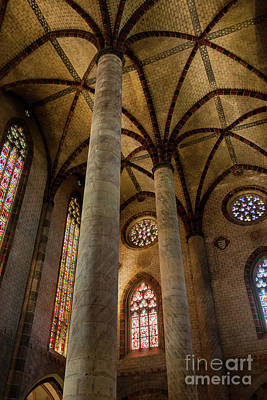 Church Of The Jacobins Interior Art Print by Elena Elisseeva