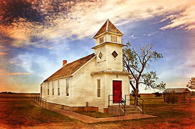 Church On The Plains Art Print