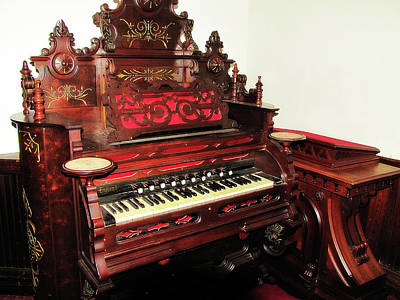 Photograph - Church Organ by Scott Hovind