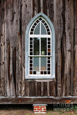 Photograph - Church Window by Dale Powell