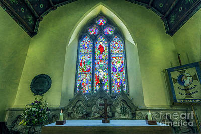 Photograph - Church Window by Ian Mitchell