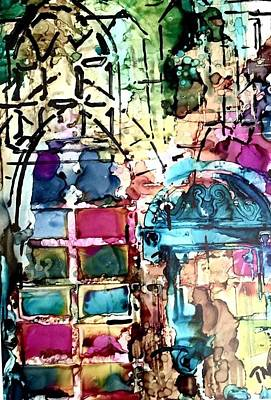 Painting - Church Windows by Tommy McDonell