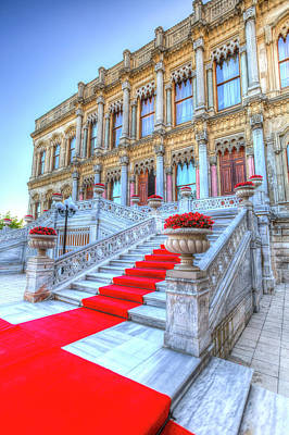 Photograph - Ciragan Palace Istanbul Turkey by David Pyatt