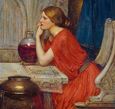 Painting - Circe by John William Waterhouse