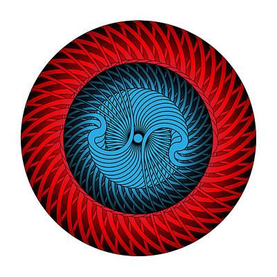 Digital Art - Circle Study No. 316 by Alan Bennington