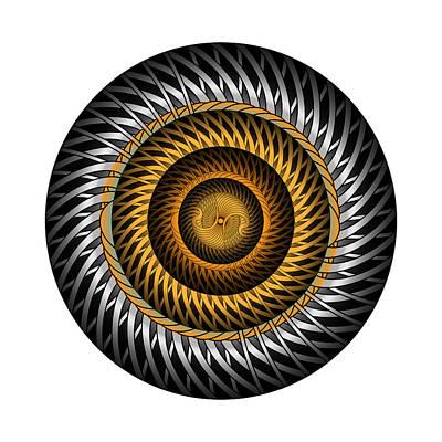 Digital Art - Circle Study No. 318 by Alan Bennington