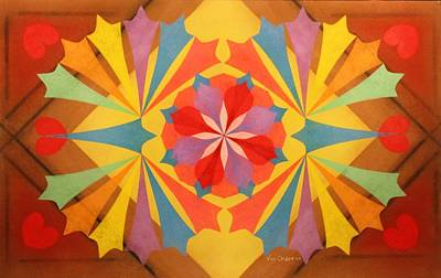 Circus Of Color Art Print by Richard Van Order