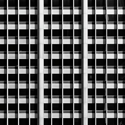 Photograph - City Grids 46 by Stuart Allen