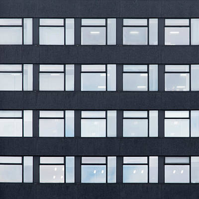 Photograph - City Grids 44 by Stuart Allen
