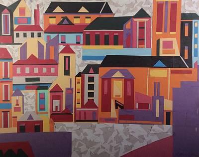 Cityscape Art Print