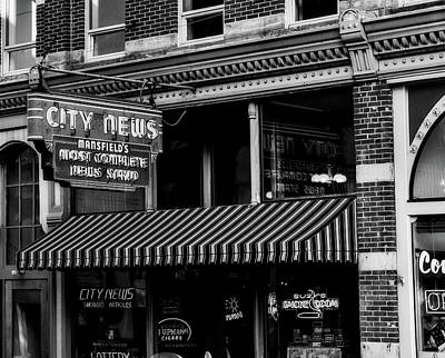 Photograph - City News by L O C