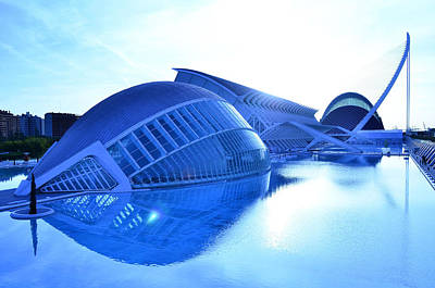 Photograph - City Of Arts And Sciences Valencia by Marek Stepan