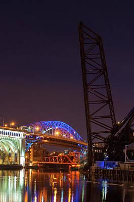 Photograph - City Of Bridges by Stewart Helberg
