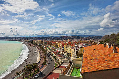 Photograph - City Of Nice In France by Artur Bogacki