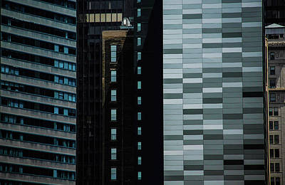 Photograph - City Perspective by Michael Nowotny