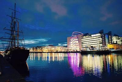 Polaroid Camera - Dublin Skyline by James Fitzpatrick