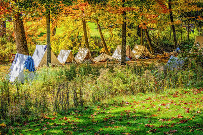 Photograph - Civil War At Wolcott Mill Metro Park  by LeeAnn McLaneGoetz McLaneGoetzStudioLLCcom