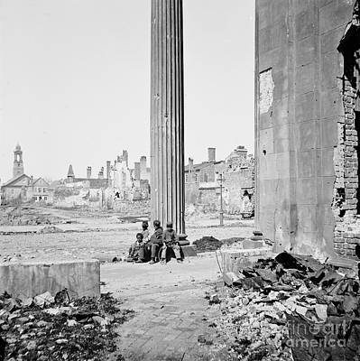 Barnard Photograph - Civil War: Charleston, 1865 by Granger
