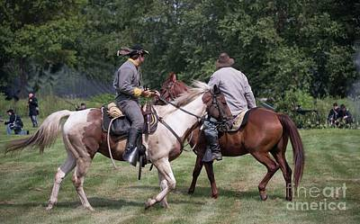Photograph - Civil War Re-enactors by David Bearden