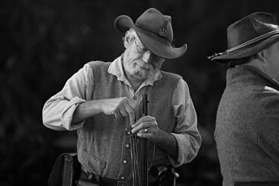 Photograph - Civil War Renactment by Ronald Olivier
