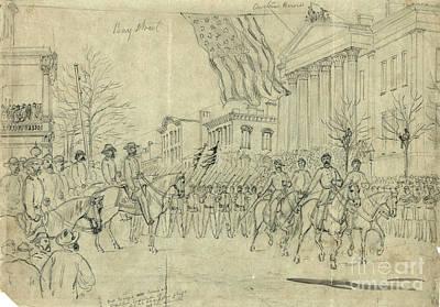 Civil War: Savannah, 1864 Art Print by Granger