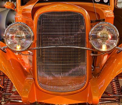 Photograph - Classic Antique Car by John Babis