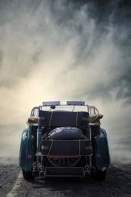 Packing Photograph - Classic Car by Joana Kruse