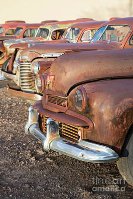 Photograph - Classic Cars by Jim West
