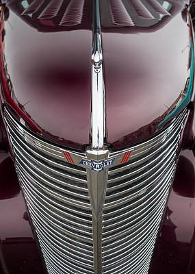 Photograph - Classic Chevrolet Grill And Emblem No. 2 by Jay Blackburn