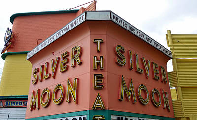 Silver Moon Drive In Photograph - Classic Drive In by David Lee Thompson