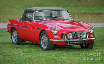Photograph - Classic Mg by Adrian Evans