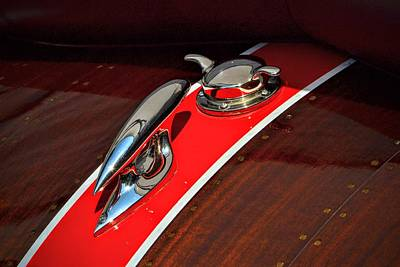 Photograph - Classic Race Boat by Dean Ferreira