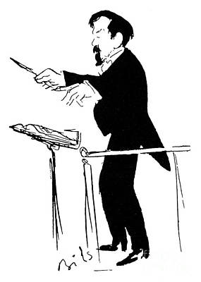 Music Stand Photograph - Claude Debussy (1862-1918) by Granger