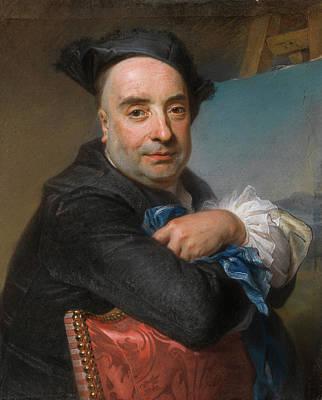 Sitting Painting - Claude Dupouch by Maurice Quentin de La Tour
