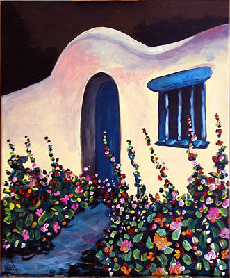 Painting - Clay Cottage by Patricia Lazaro