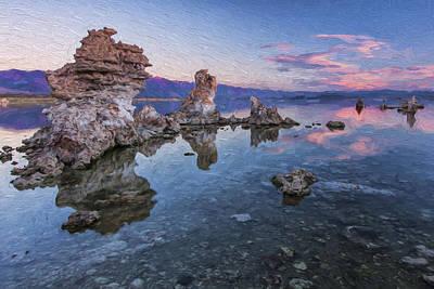 Salt Water Digital Art - Clear And Calm II by Jon Glaser
