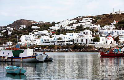 Photograph - Clear Day In Mykonos by John Rizzuto