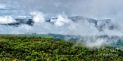 Photograph - Clearing Storm West Virginia Highlands by Thomas R Fletcher