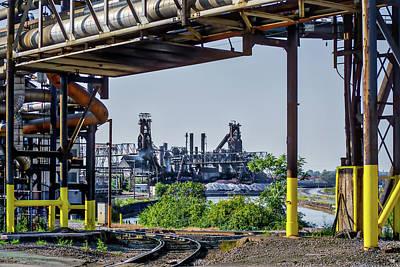 Photograph - Cleveland Steel by Stewart Helberg