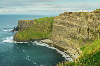 Portmagee Wall Art - Photograph - Cliff Edge by Tayne Hunsaker