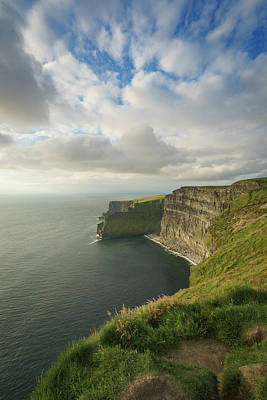 Photograph - Cliffs Of Moher by Bill Martin
