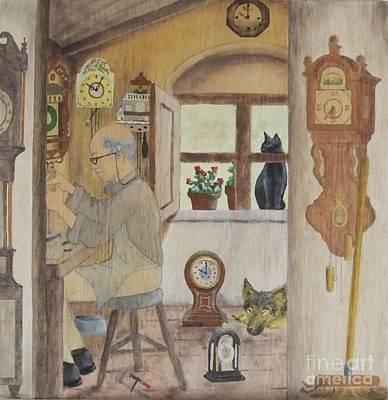 Clockmaker 2 Art Print